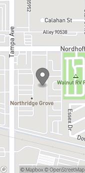 Mapa de 9050 Tampa Avenue en Northridge