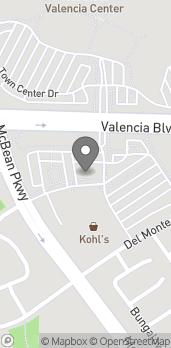 Mapa de 24236 Valencia Blvd en Valencia