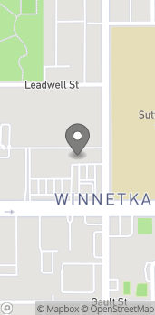 Mapa de 20111 Sherman Way en Winnetka