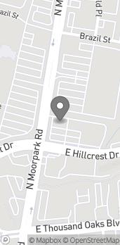 Map of 180 N Moorpark in Thousand Oaks
