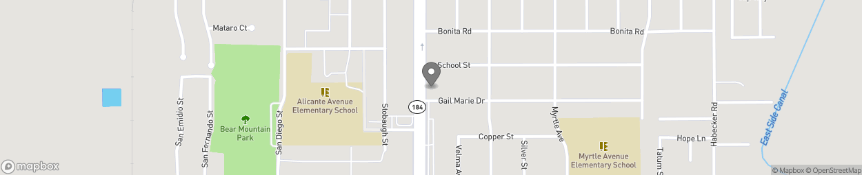 Carte de 10213 Main Street à Lamont