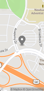 Map of 935 S Broadbeck Dr in Newbury Park
