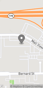 Map of 3501 Mallview Rd in Bakersfield
