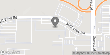 Mapa de 3501 Mallview Rd en Bakersfield