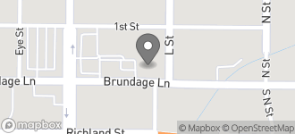 Map of 1300 Brundage Lane in Bakersfield