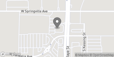 Map of 460 W Vandalia Avenue in Porterville