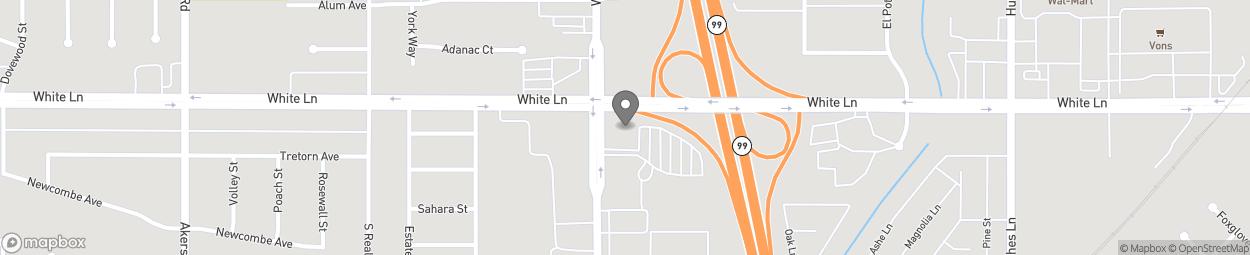 Carte de 4100 Wible Road à Bakersfield