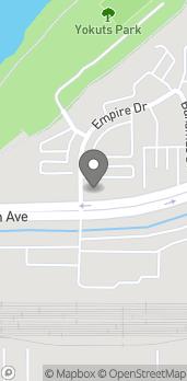 Mapa de 4180 Truxtun Ave en Bakersfield