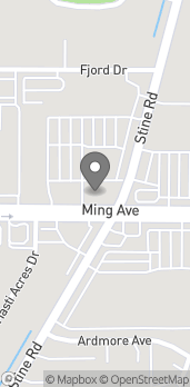 Map of 4300 Ming Ave in Bakersfield