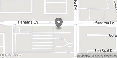 Mapa de 6603 Panama Lane en Bakersfield
