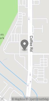 Map of 3401 Coffee Rd in Bakersfield