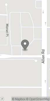 Mapa de 12918 Brimhall Road en Bakersfield