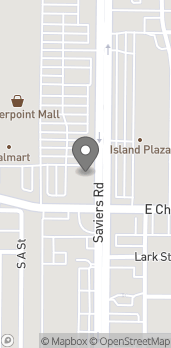 Map of 2801 Saviers Rd in Oxnard