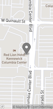 Map of 1103 Columbia Center Boulevard in Kennewick