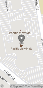 Map of 3301 East Main St in Ventura