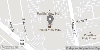 Map of 3301 East Main St in Ventura