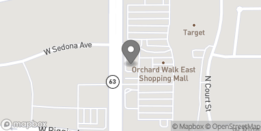 Map of 3206 N Dinuba Blvd in Visalia