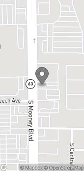 Mapa de 2250 S Mooney Blvd en Visalia