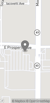 Map of 2075 E Prosperity Ave in Tulare