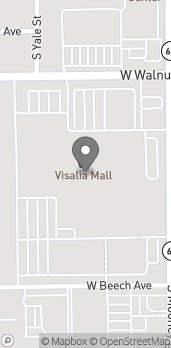 Map of 2033 S Mooney Blvd in Visalia