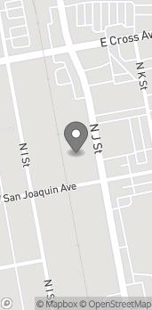 Mapa de 315 N J Street en Tulare
