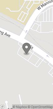 Mapa de 589 N I St. en Reedley