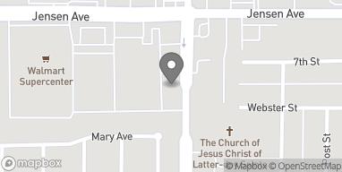Mapa de 775 Bethel Ave en Sanger