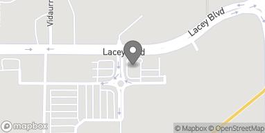Mapa de 2461 Lacey Blvd en Hanford