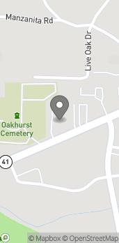 Map of 40208 Highway 41 in Oakhurst
