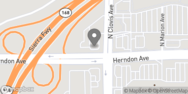 Map of 779 Herndon Ave in Clovis