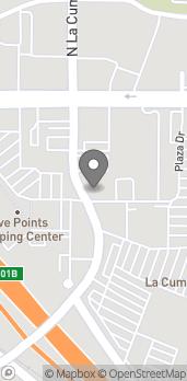 Map of 101 S. La Cumbre Road in Santa Barbara
