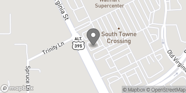 Map of 75 Damonte Ranch Pkwy in Reno