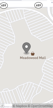 Map of 5000 Meadowood Mall Circle in Reno