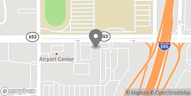Map of 1274 E Plumb Ln in Reno