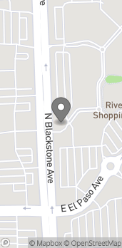 Map of 7684 N Blackstone Ave in Fresno