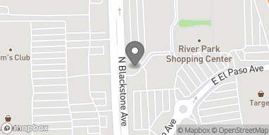 Mapa de 7684 N Blackstone Ave en Fresno