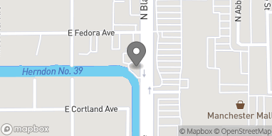 Map of 3611 N Blackstone Ave in Fresno