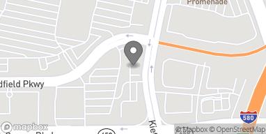 Map of 4985 Kietzke Ln in Reno
