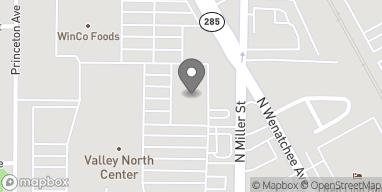 Map of 1304 N Miller St in Wenatchee