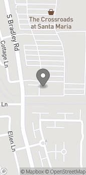 Mapa de 2356 South Bradley Rd en Santa Maria