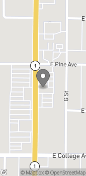 Map of 700 N H St in Lompoc