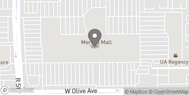 Map of 225 Merced Mall in Merced