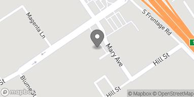 Mapa de 110 S Mary St en Nipomo