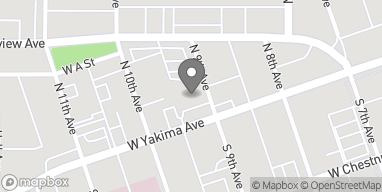 Map of 901 W Yakima Ave in Yakima