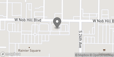 Map of 2412 W Nob Hill Blvd in Yakima