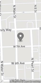 Map of 702 N Main St in Ellensburg