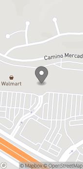 Map of 1138 W Branch St in Arroyo Grande