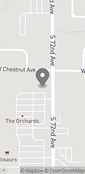 Map of 110 S 72nd Ave in Yakima