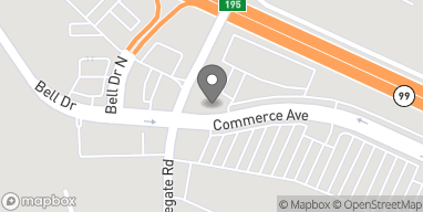 Mapa de 1291 Commerce Ave en Atwater