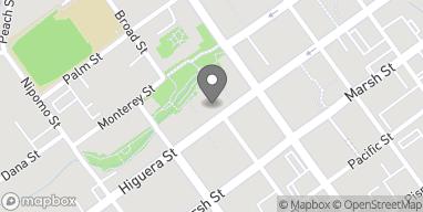Mapa de 760 Higuera St en San Luis Obispo
